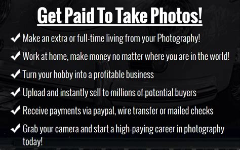 @ Get Paid To Take Photos - Photography Jobs Online .