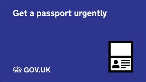 Get A Passport Urgently - Gov.uk.
