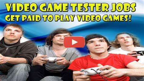 Get Paid To Play Video Games - Becoming A Video Game Tester.