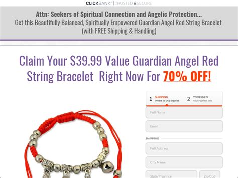 @ Get Rid Of Guardian Angel Bracelet Offer With Free S H .