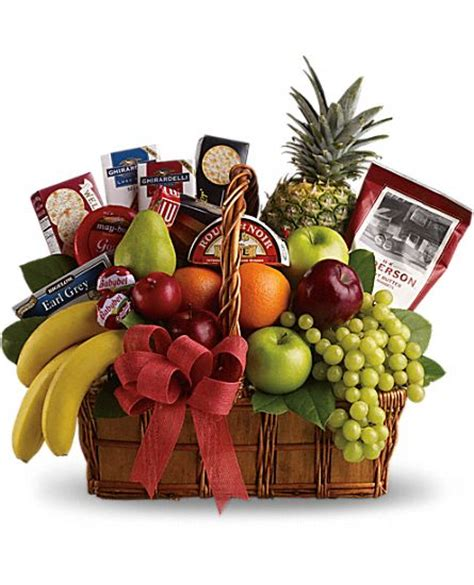 Gift Baskets Gourmet Food And Flower Baskets Teleflora.