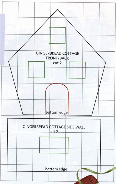 Gingerbread House Plans Printable