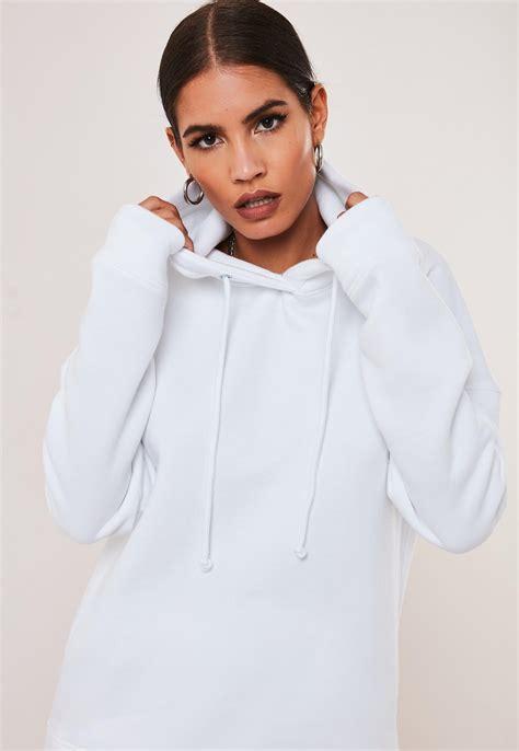 Girls White Hoodie