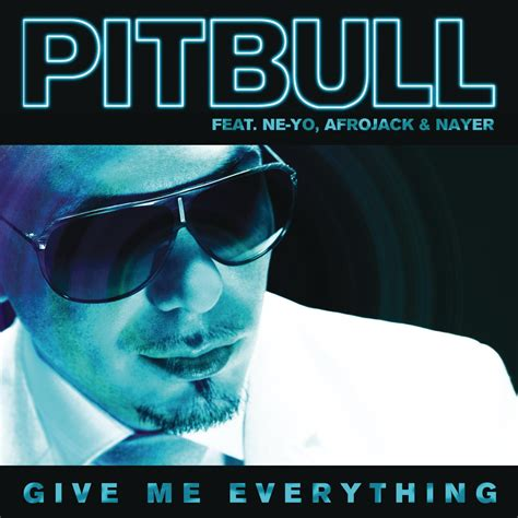 Give Me Everything Pitbull Album Cover