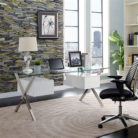 Glass Office Furniture Sets