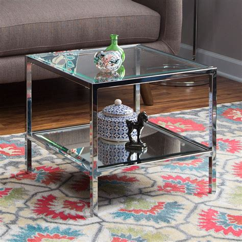 Glass Top Bunching Coffee Tables