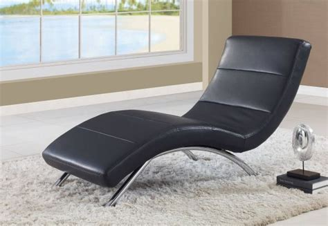 Global Furniture Usa Ultra Bonded Leather Metal Chaise .