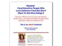 [click]gluten Free Low Glycemiccookbook For Diabetics Allergy Sufferers.