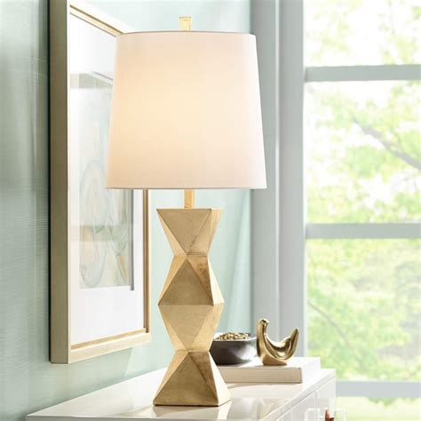 Gold Contemporary Table Lamps  Lamps Plus.
