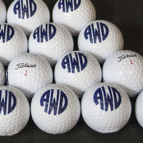 [click]golf Balls From Top Brands - Personalized Custom Logo .