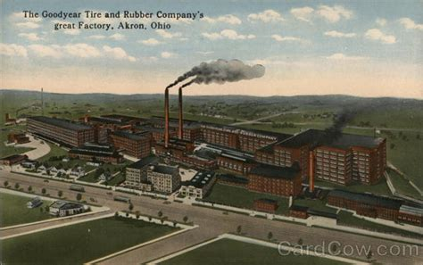 Goodyear Tire and Rubber Company Akron Ohio