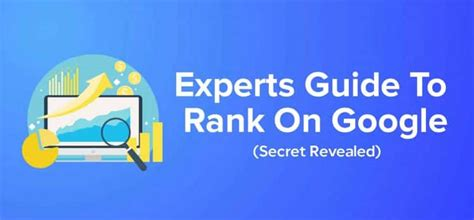 @ Google Ranking Secrets 2019.