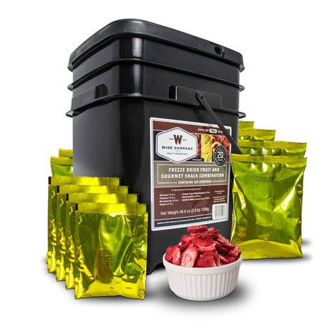 Gourmet 60 Serving Freeze Dried Meat  Wise Food Storage.
