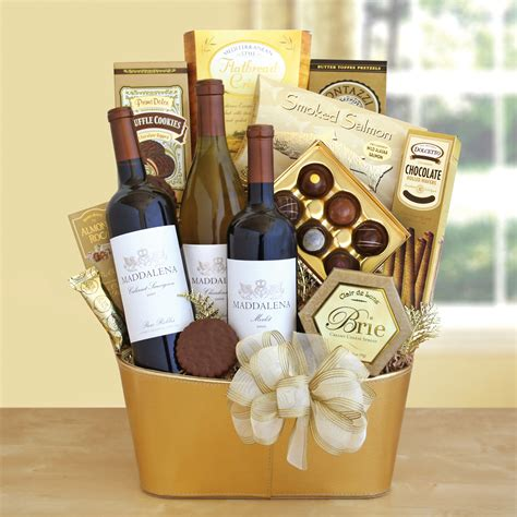 Gourmet Gift Baskets: Gift Baskets Of Wine, Food, Fruit, & More.
