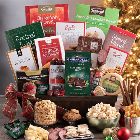 Gourmet Holiday Baskets