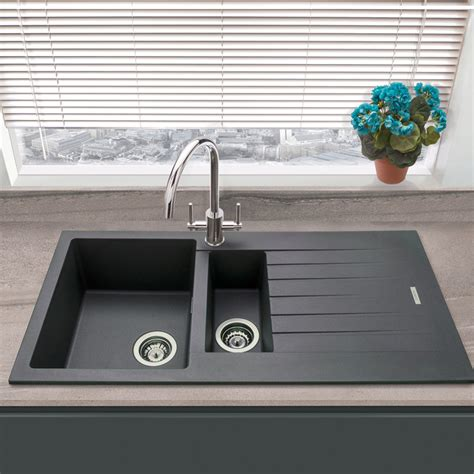 Granite And Composite 1 5 Bowl Kitchen Sinks.