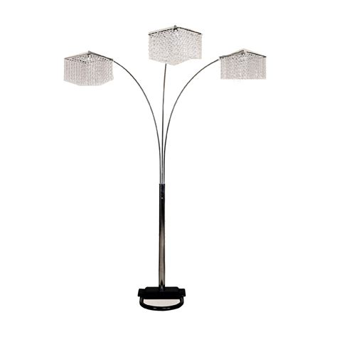 Great Deal On 84h 3 Crystal Inspirational Arch Floor Lamp.