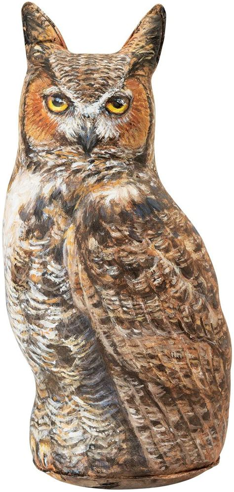 Great Horned Owl Doorstop Animal Door Stop Decorative Owl.