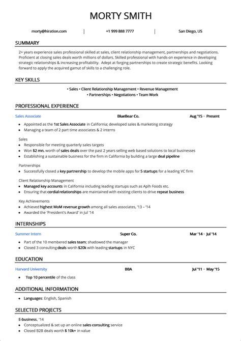 great resume samples black - Great Resumes Samples