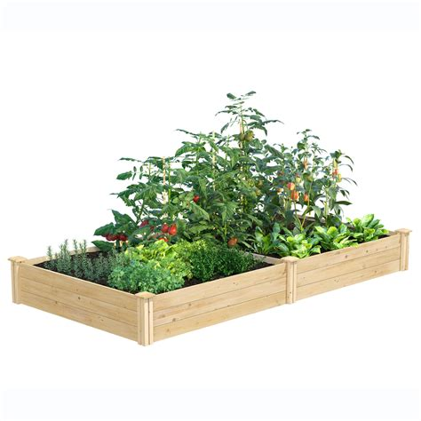 Greenes Original Cedar Raised Garden Bed 2 X8 X10 5 .