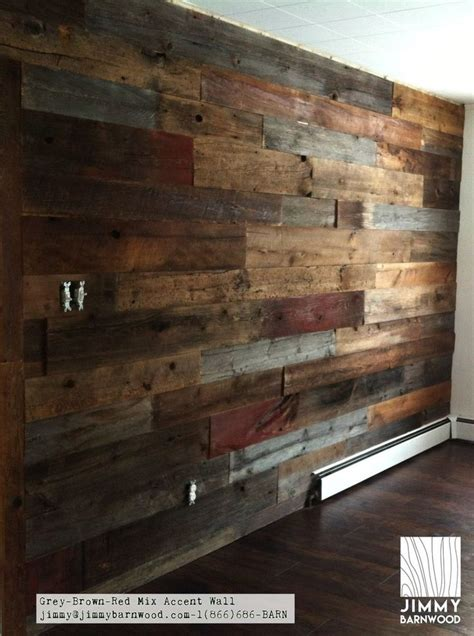 Grey Brown Red Reclaimed Wood Wall Plank S4s Kiln Dried.