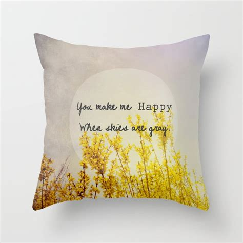 Grey Skies Throw Pillows  Society6.