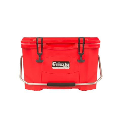 Grizzly Coolers Grizzly 20 Quart Rotomolded Cooler.