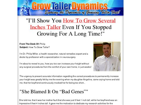 Grow Taller Dynamics - Hot Niche With Amazing Conversion - Video.