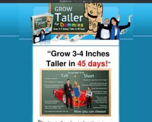 @ Grow Taller For Dummies Affiliate Makes 2987 03 In 29 Days.