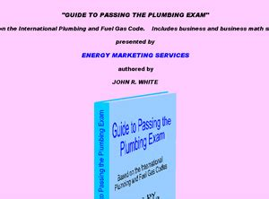 [click]guide To Passing Plumbing Exam - Http  Johnrwhite Net .