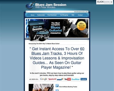[click]guides Bluesjamsession Com - 6 Conversions On This Blues .