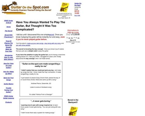 [pdf] Guitar On The Spot - Frustrated With The Guitar This .