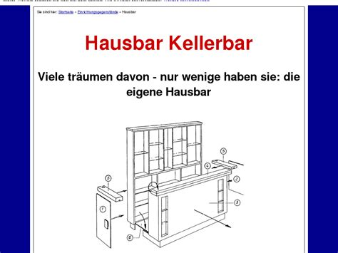 [click]hausbar Und Kellerbar Technik - My-Reviews Net.