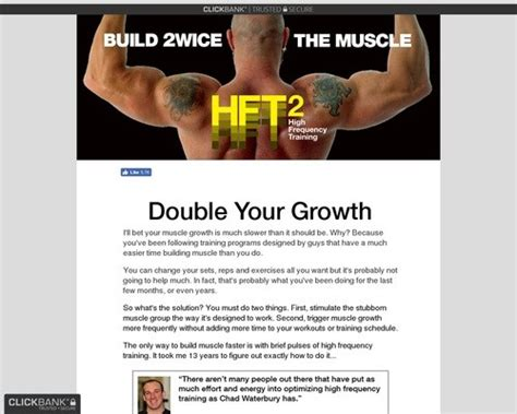 Hft2 – – Build 2wice The Muscle – Chad Waterbury ~ Face And Body.