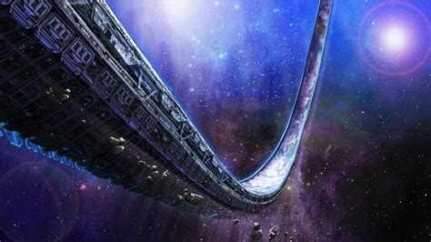 Halo Space Wallpaper HD
