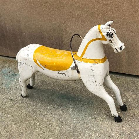 Hand Carved Carousel Horses For Sale