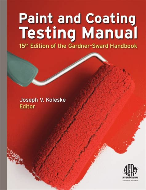 [pdf] Handbook On Paint Testing Methods.