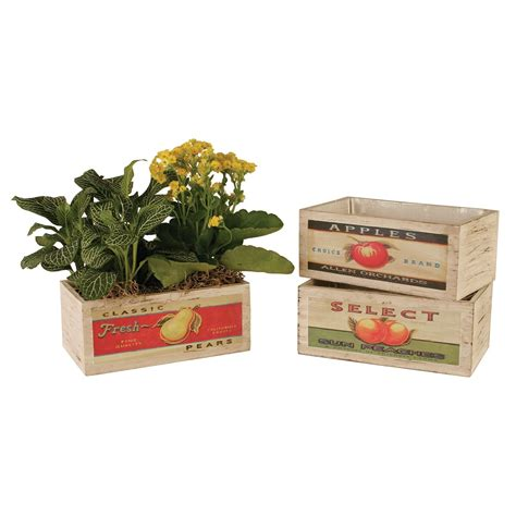 Have To Have It Wald Imports Double 4 In Wood Planter .
