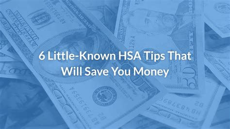 Health Savings Account Rules: 6 Little-Known Hsa Tips That Will.