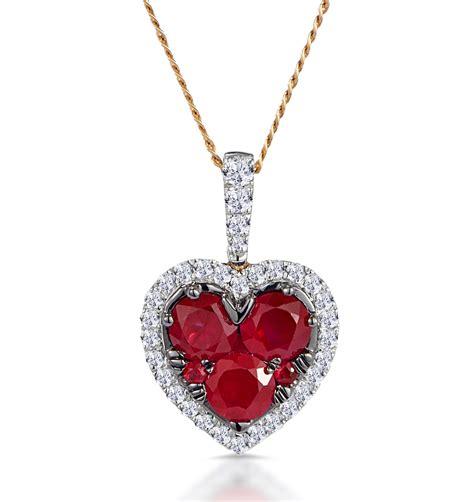 Heart Ruby Jewelry