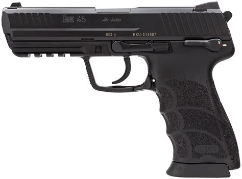 Heckler  Koch Usp Tactical V1 Pistol 45 Acp 5 09in .