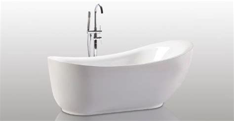 Helixbath Cyrene Freestanding Acrylic Bathtub 71 White W .