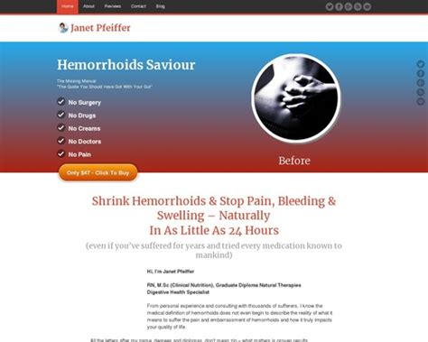 [click]hemorrhoids Saviour   Cure Hemorrhoids Forever   Now Pays 27.