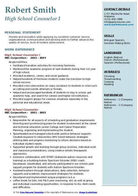 addiction counselor resume sales counselor lewesmr - Vocational Counselor Resume
