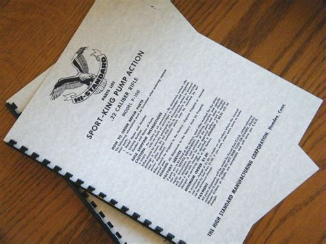 High Standard 22 Cal Safety Olympic Model  Ebay.