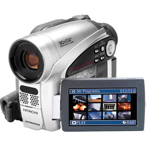 Hitachi DVD Camcorder Manual
