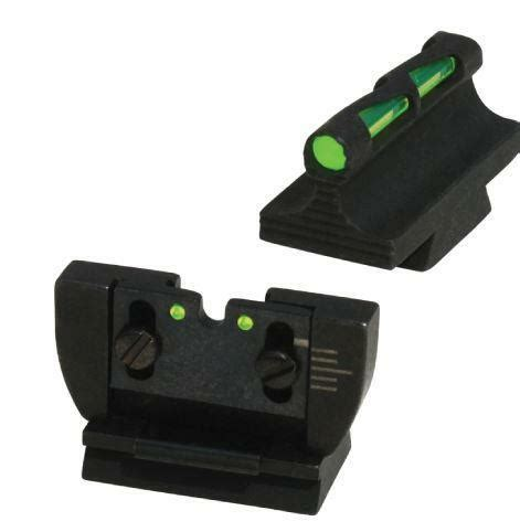 Hiviz Interchangeable Front And Rear Sight Set  For Sale.
