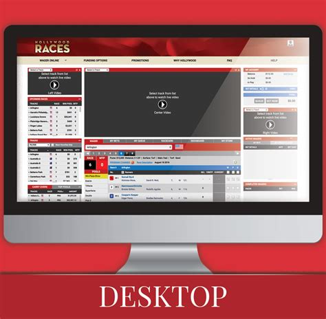 Hollywood Races: Horse Racing Wager Online.