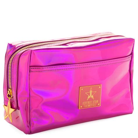Holographic Purple Makeup Bag – Jeffree Star Cosmetics.