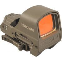 Holosun 1x Open Reflex Sight Up To 18 Off 4 8 Star.